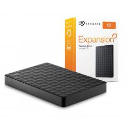 Seagate 1TB Expansion Portable USB3.0 Hard Drive STEA1000400, USB Powered, Simple Add-on Storage