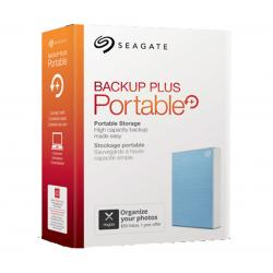 Seagate 4TB Backup Plus Portable HDD Blue STHP4000402, USB3.0 Plug & Play, Mac & Windows