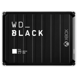 WD BLACK P10 Game Drive for Xbox One™ 5Tb Black Top W/ White Bottom Worldwide Wdba5G0050Bbk-Wesn