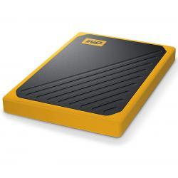 Western Digital WD My Passport Go 1TB Portable SSD USB3.0 400MB/s WDBMCG0010BYT-WESN, Tough SSD, Built To Travel